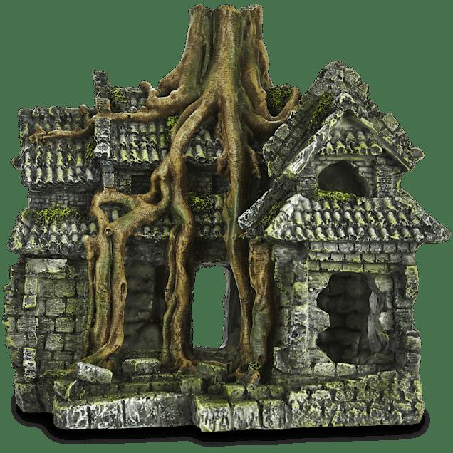 Imagitarium Resin Cambodian Ruin Aquatic Decor - Carousel image #1