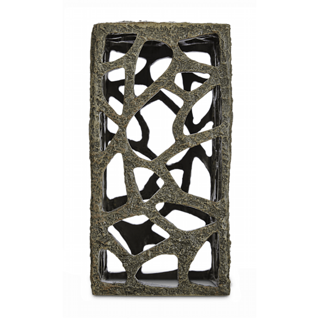 Imagitarium Resin Rustic Tower Aquatic Decor - Carousel image #1