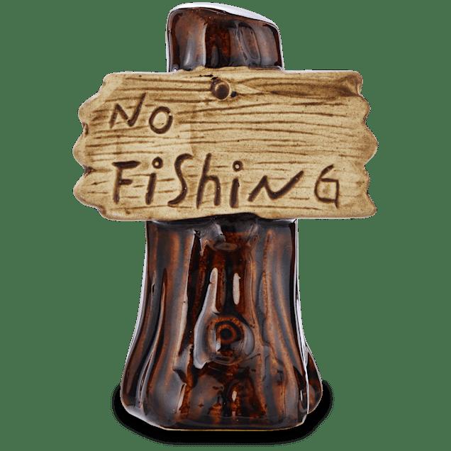 """Imagitarium """"No Fishing"""" Sign Aquatic Decor - Carousel image #1"""