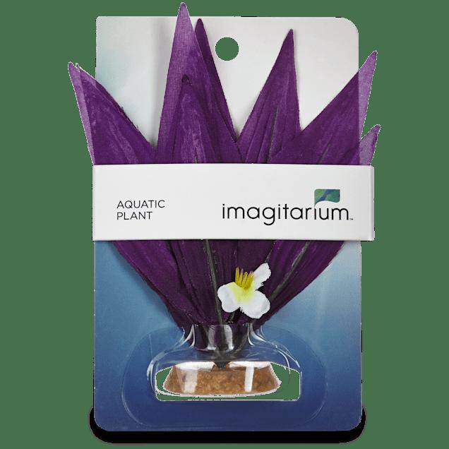 Imagitarium Purple Burst Silk Aquarium Plant - Carousel image #1