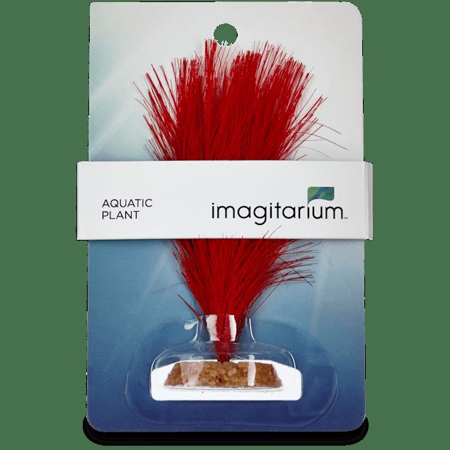 Imagitarium Red Feather Silk Aquarium Plant - Carousel image #1