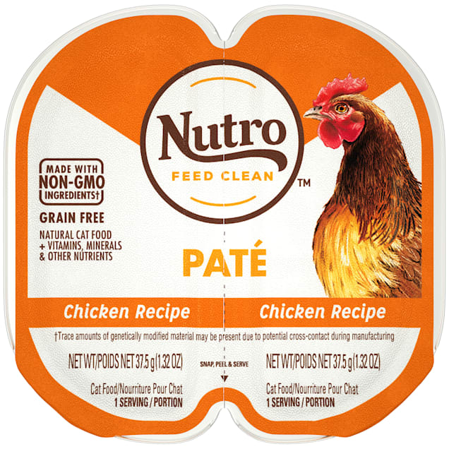 Nutro Perfect Portions Real Chicken Pate Wet Cat Food, 2.64 oz., Case of 24 - Carousel image #1