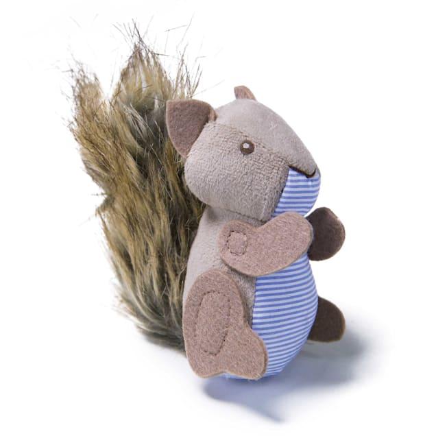 Petlinks System Plush Player Squirrel Refillable Catnip Cat Toy - Carousel image #1