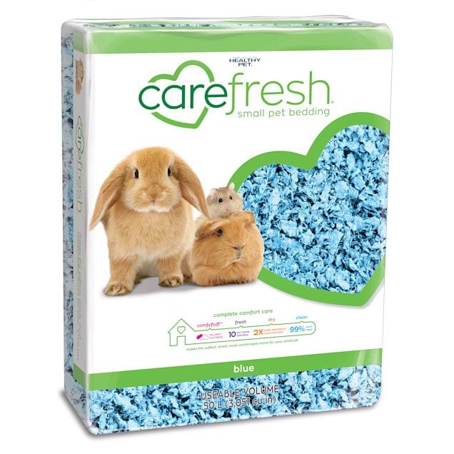 Carefresh Blue Small Pet Bedding, 50 Liter - Carousel image #1