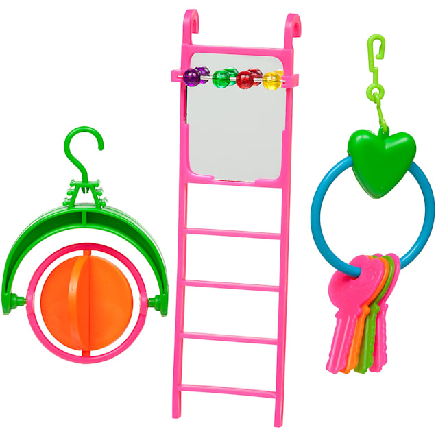 You & Me Ladder with Toys Bird Toy Value Pack - Carousel image #1