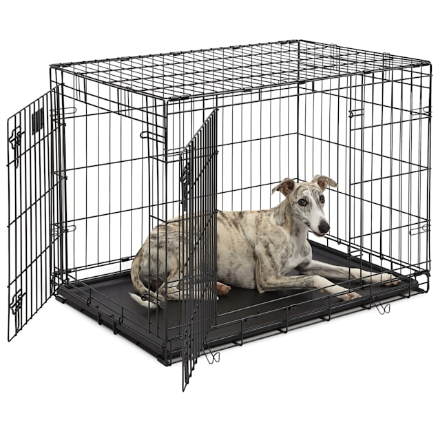 "Midwest Lifestages Double Door Fold & Carry Crate, 36""L X 24""W X 27""H - Carousel image #1"