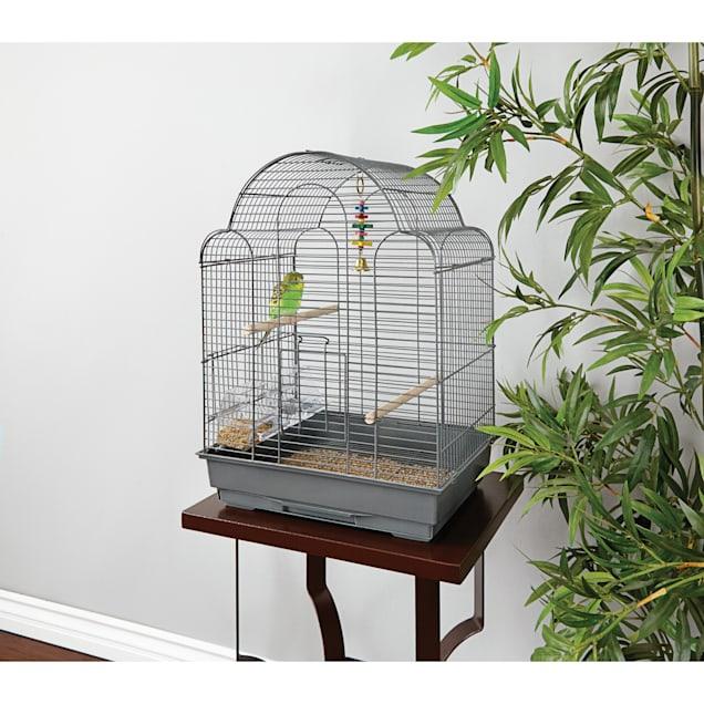 You & Me Parakeet Scallop Top Cage - Carousel image #1