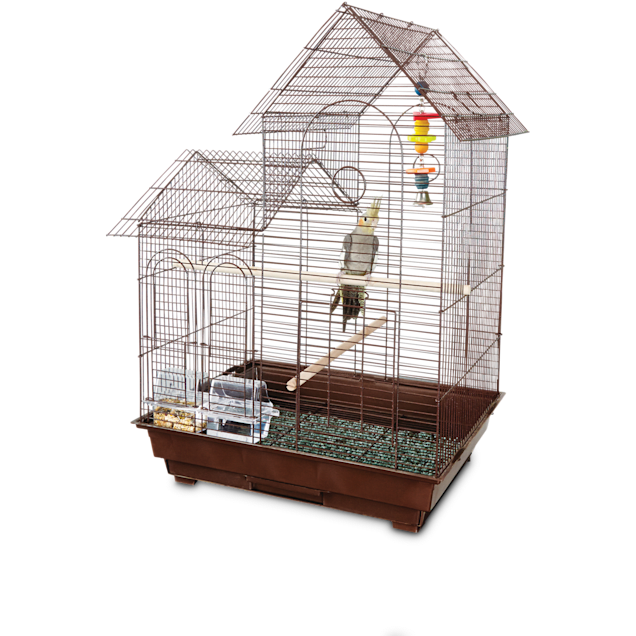"""You & Me Cockatiel Ranch House Bird Cage, 20"""" L x 16"""" W x 29"""" H - Carousel image #1"""