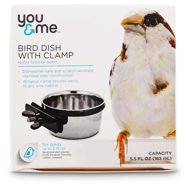 You & Me Stainless Steel Coop Cup with Clamp, Small - Carousel image #1