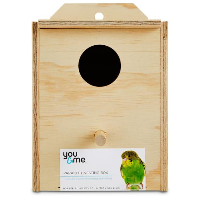 You & Me Parakeet Nest Box - Carousel image #1