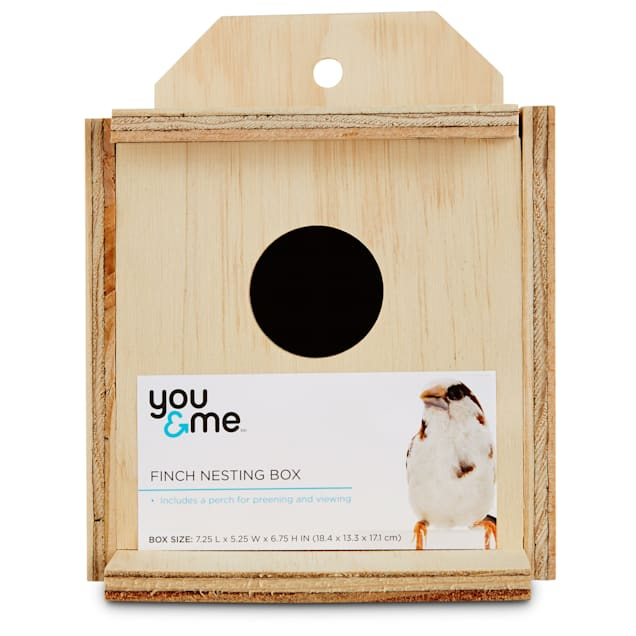 You & Me Finch Nest Box - Carousel image #1