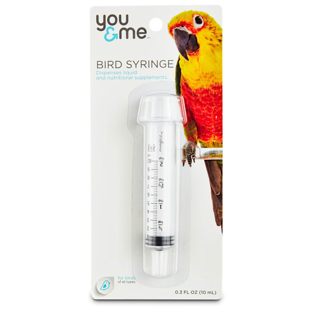 You & Me Hand Feeding Syringe for Birds - Carousel image #1