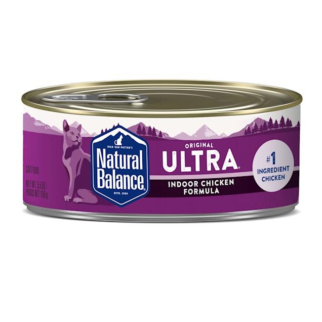 Natural Balance Indoor Formula Wet Cat Food, 5.5 oz., Case of 24 - Carousel image #1