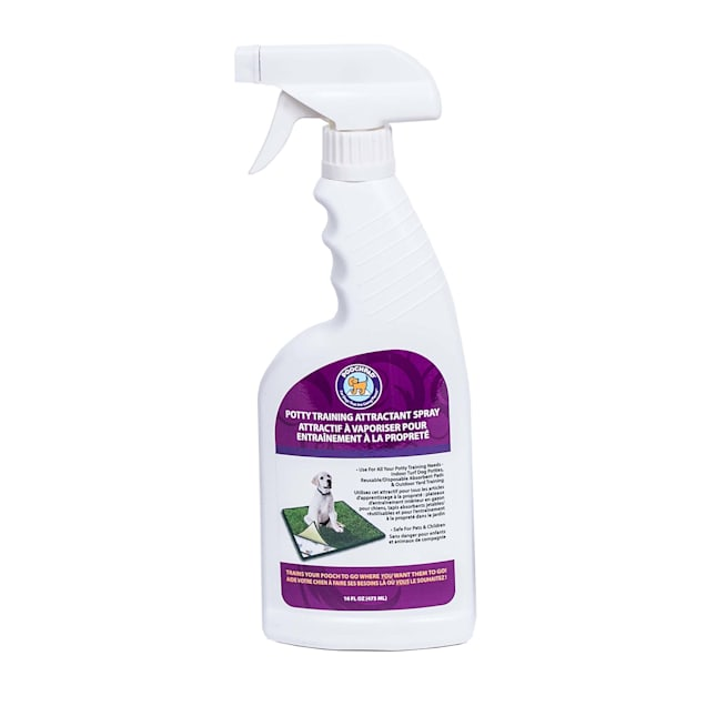 PoochPads Potty Training Attractant Spray, 16 fl. Oz. - Carousel image #1