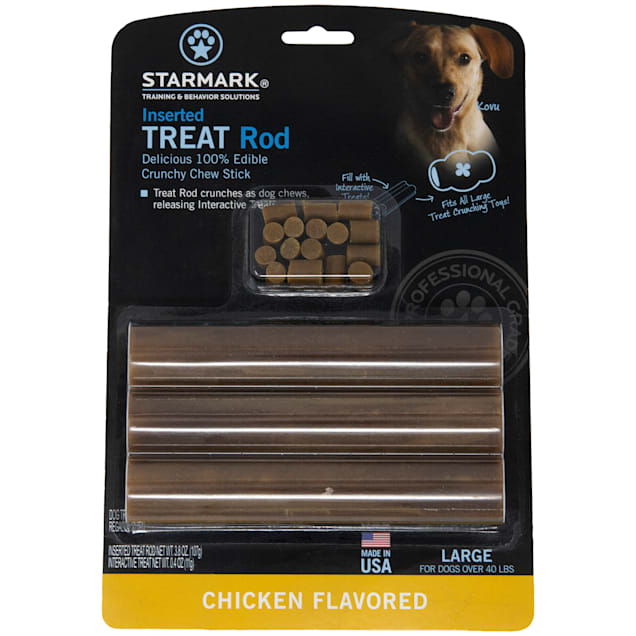 Starmark Dog Treat Rod Chicken Flavor,  6.3 oz. - Carousel image #1