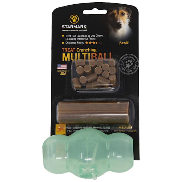 Starmark Crunching Multiball Dog Treat Dispenser - Carousel image #1