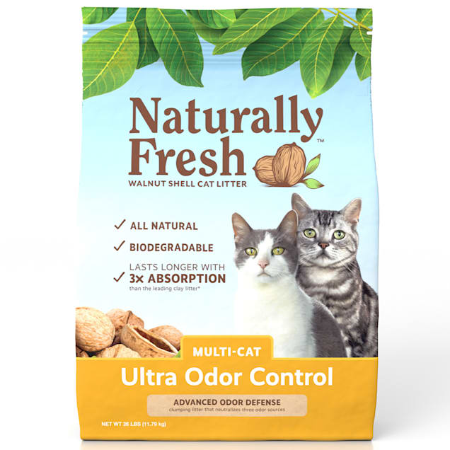 Naturally Fresh Ultra Odor Control Quick-Clumping Natural Multi-Cat Litter, 26 lbs. - Carousel image #1