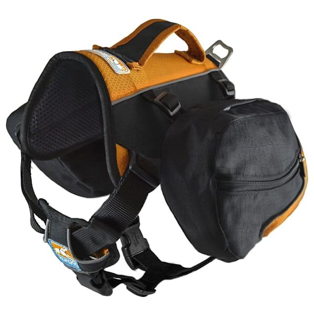 Kurgo Baxter Black/Orange Dog Backpack, Medium - Carousel image #1