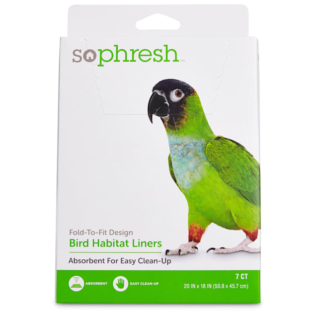 So Phresh Absorbent Cage Liners for Birds - Carousel image #1