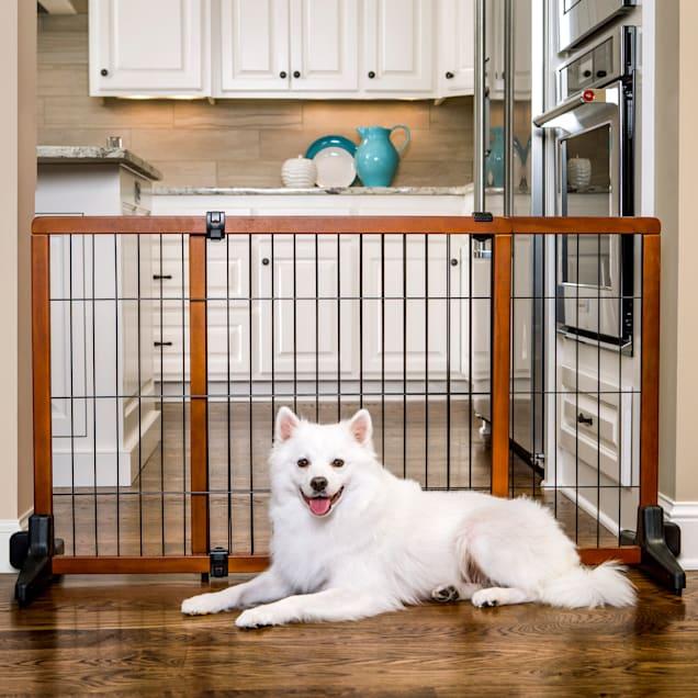 Carlson Freestanding Pet Gate, Large - Carousel image #1
