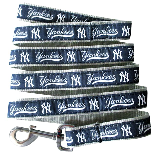 Pets First New York Yankees Leash, Small - Carousel image #1
