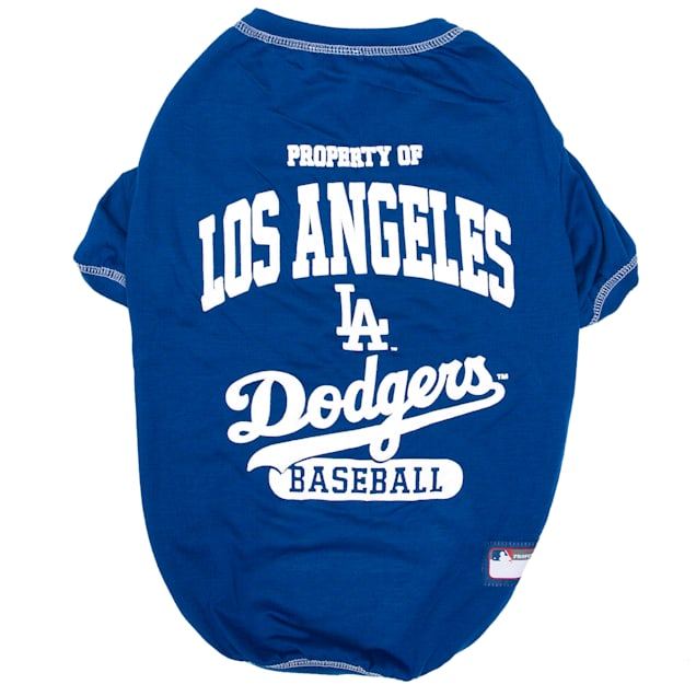 Pets First Pet's First Los Angeles Dodgers T-Shirt, X-Small - Carousel image #1