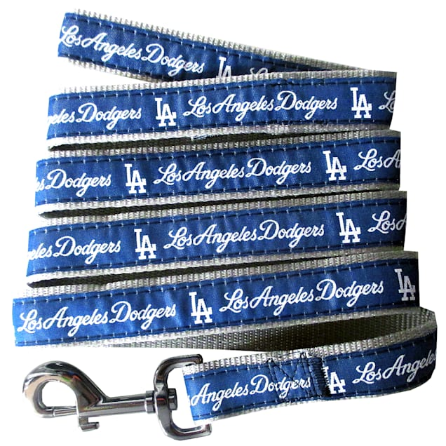 Pets First Los Angeles Dodgers Leash, Small - Carousel image #1