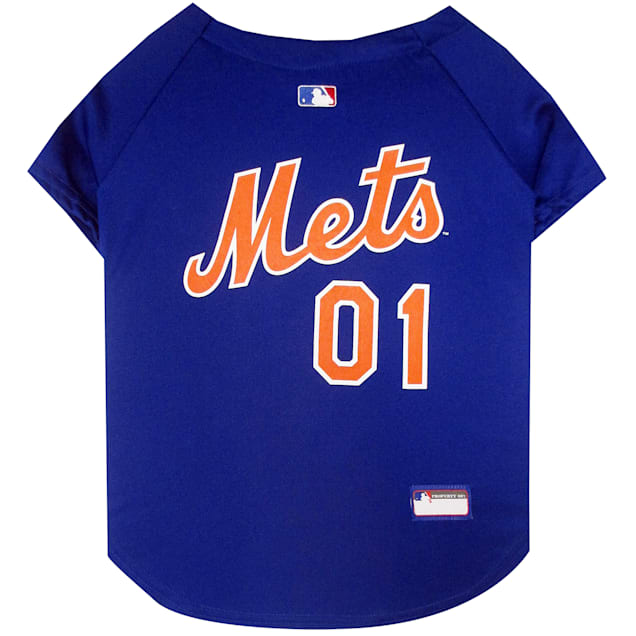 Pets First New York Mets Jersey, X-Small - Carousel image #1