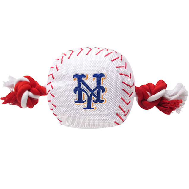 Pets First MLB New York Mets Baseball Toy, Large - Carousel image #1