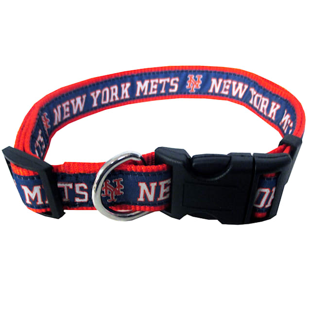 Pets First New York Mets Collar, Small - Carousel image #1
