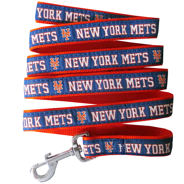 Pets First New York Mets Leash, Small - Carousel image #1