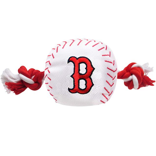 Pets First MLB Boston Red Soxbaseball  Toy, Large - Carousel image #1