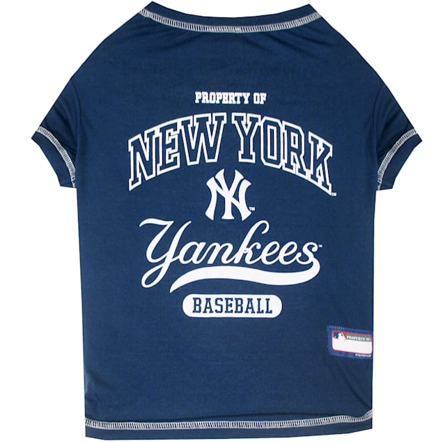 Pets First New York Yankees T-Shirt, X-Small - Carousel image #1