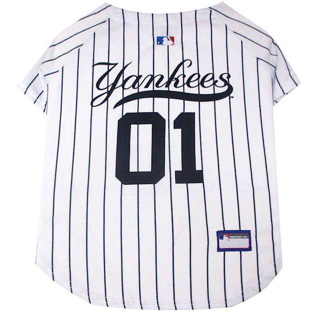 Pets First New York Yankees Jersey, X-Small - Carousel image #1