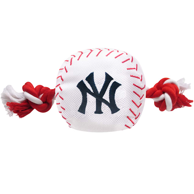 Pets First MLB New York Yankees Baseball Toy, Large - Carousel image #1