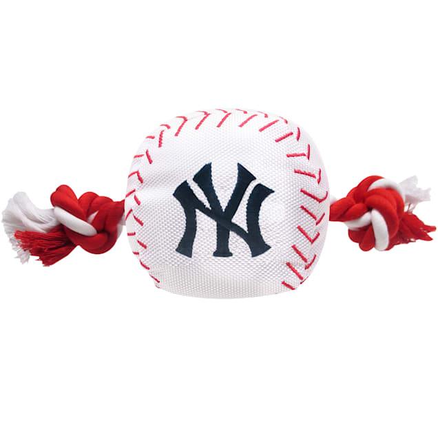 Pets First MLB New York Yankees Baseball Toy, Large - Carousel image #1