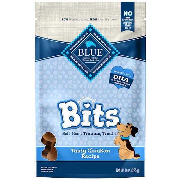 Blue Buffalo Blue Bits Tasty Chicken Soft-Moist Training Dog Treats, 9 oz. - Carousel image #1