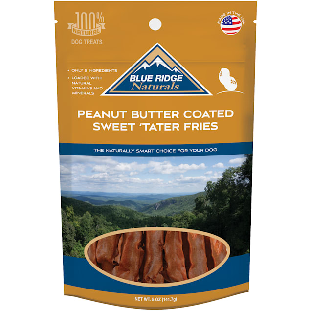 Blue Ridge Naturals Peanut Butter Coated Sweet Tater Fries, 5 oz. - Carousel image #1