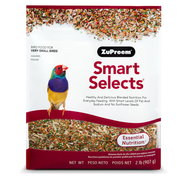 ZuPreem Smart Selects for Canary & Finch Diet, 2 lbs. - Carousel image #1