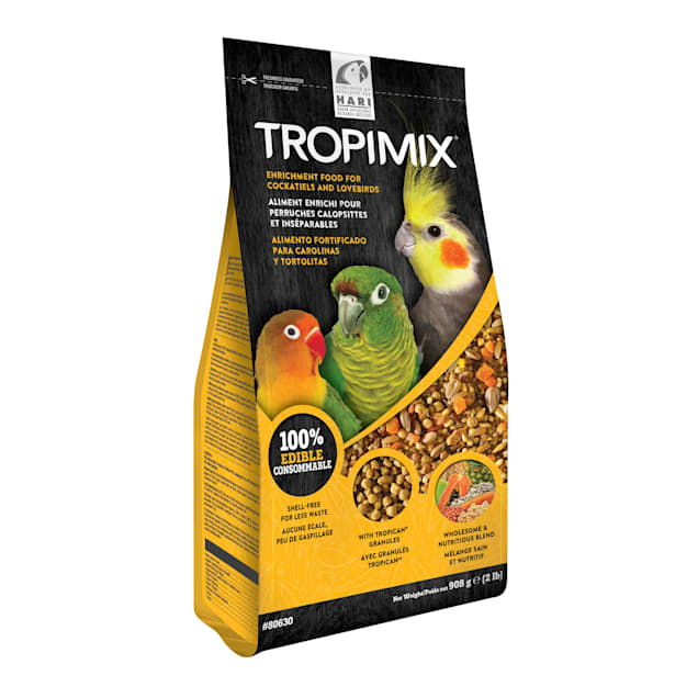 Tropimix Formula for Cockatiels and Lovebirds, 2 lbs. - Carousel image #1