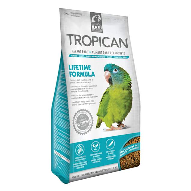 Tropican Lifetime Formula Granules for Parrots, 1.8 lbs. - Carousel image #1