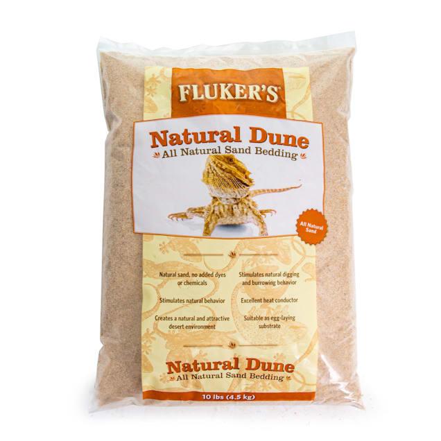 Fluker's Natural Reptile Sand Bedding, 10lbs - Carousel image #1