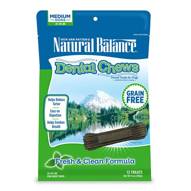 Natural Balance Fresh & Clean Medium Dog Dental Chews, 13 oz. - Carousel image #1