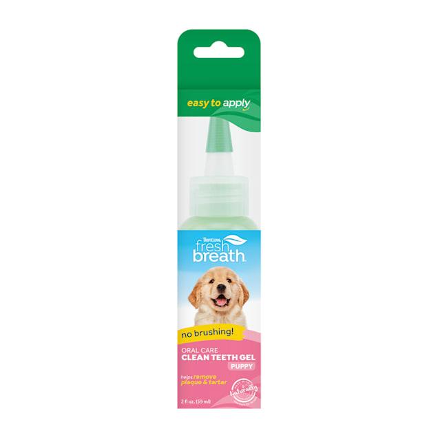 TropiClean Fresh Breath Oral Care Clean Teeth Gel for Puppies, 2 fl. oz. - Carousel image #1