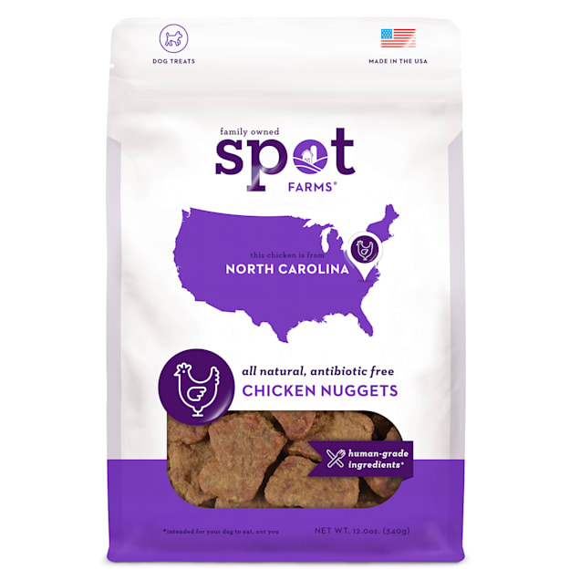 Spot Farms Chicken Nugget Dog Treats - Carousel image #1