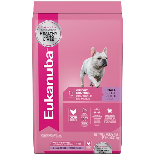 Eukanuba Small Breed Weight Control Adult Dog Food, 15 lbs. - Carousel image #1