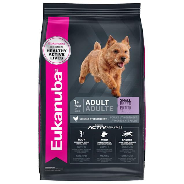 Eukanuba Adult Small Breed Chicken Flavor Dry Dog Food, 15 lbs. - Carousel image #1