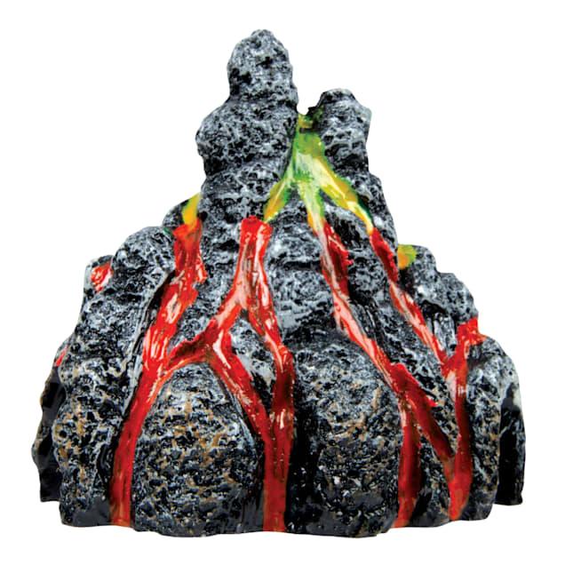 "GloFish Volcano Ornament Aquarium Decor, 3.31"" L x 2.38"" W x 3.44"" H - Carousel image #1"