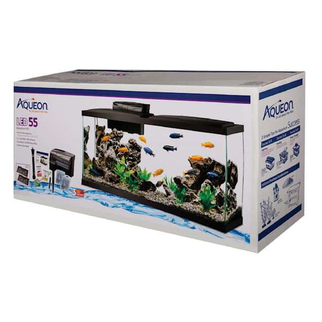 Aqueon 55 Gallon LED Aquarium Kit - Carousel image #1