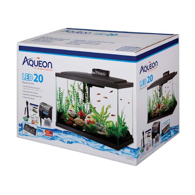 Aqueon LED Aquarium Kit 20 Gallon High - Carousel image #1